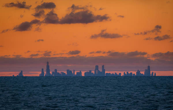 Photograph - Chicago Skyline by Ron Pate