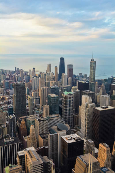 Photograph - Chicago Skyline Skydeck by Kyle Hanson