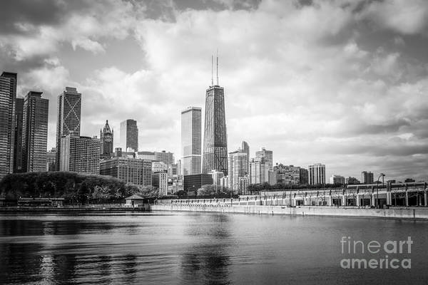Wall Art - Photograph - Chicago Skyline With John Hancock Building by Paul Velgos