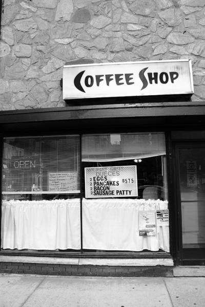 Photograph - Chicago Storefront Bw2 by Frank Romeo