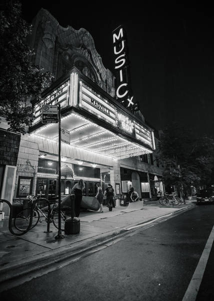 Light Box Photograph - Chicago Theater by Paul Scolieri