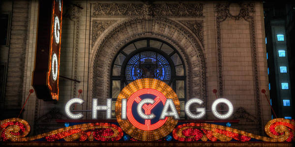 Photograph - Chicago Theater by Ryan Smith