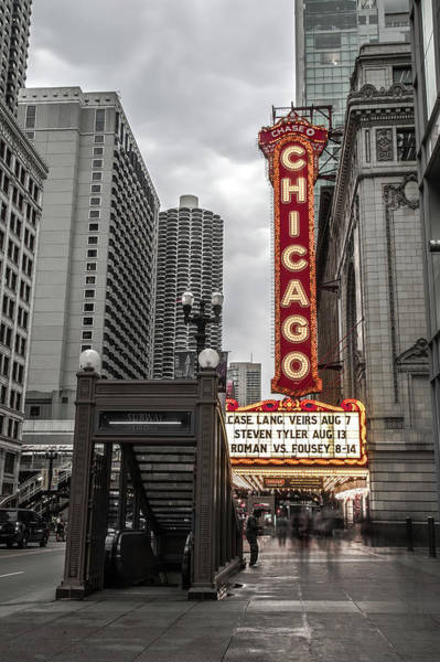 Photograph - Chicago Thetre by Ryan Smith