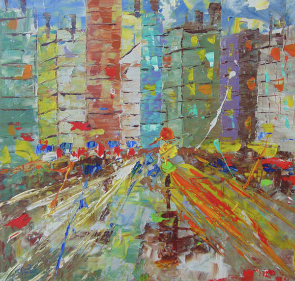 Painting - Chicago Usa by Frederic Payet