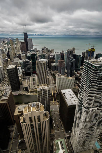 Photograph - Chicago View From 70th Floor by Sven Brogren