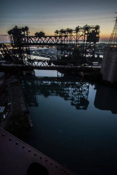 Photograph - Chicago's Calumet River At Dawn by Sven Brogren
