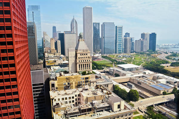 Photograph - Chicago's Front Yard by Kyle Hanson