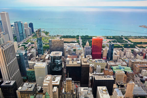 Photograph - Chicago's Front Yard Skyline by Kyle Hanson