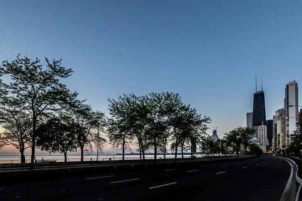 Photograph - Chicago's Lake Shore Drive At Dawn  by Sven Brogren
