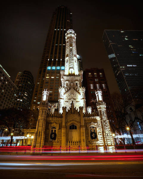 Photograph - Chicago's Water Tower by Ryan Smith