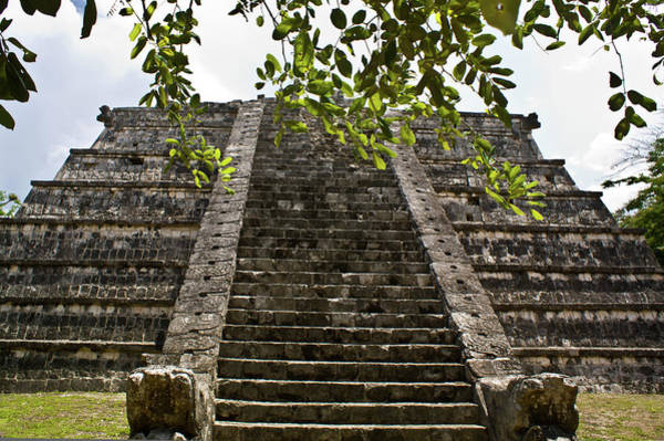 Solidity Photograph - Chichen Itza 3 by Douglas Barnett
