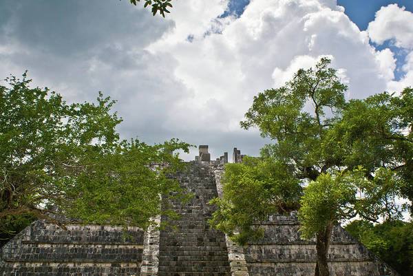 Solidity Photograph - Chichen Itza 4 by Douglas Barnett