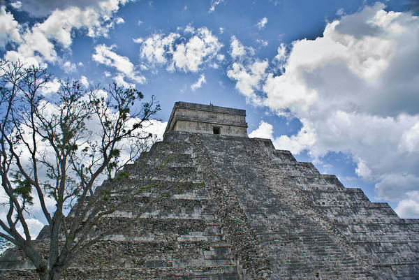 Solidity Photograph - Chichen Itza 5 by Douglas Barnett