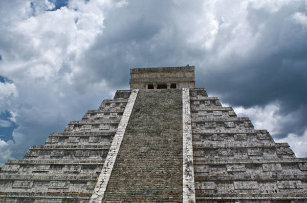 Solidity Photograph - Chichen Itza 7 by Douglas Barnett