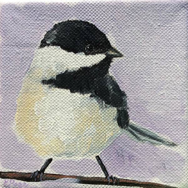 Painting - Chickadee I by Emily Page
