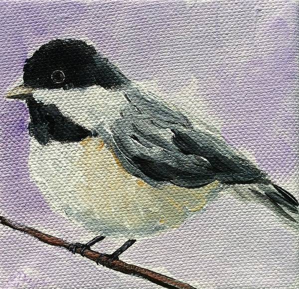 Painting - Chickadee II by Emily Page