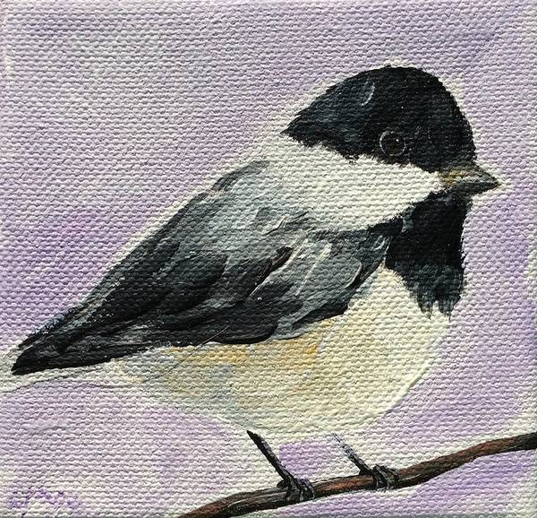 Painting - Chickadee IIi by Emily Page