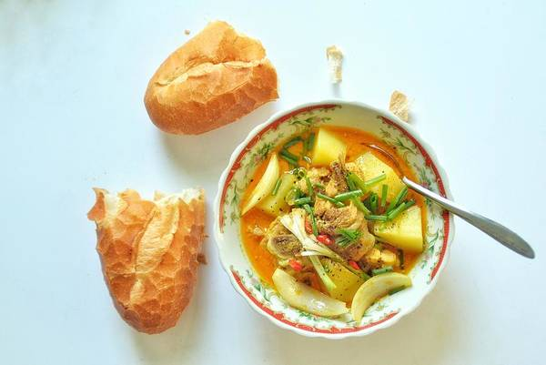 Photograph - Chicken Curry2 by Tran Minh Quan