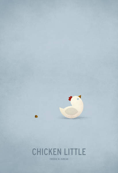 Wall Art - Digital Art - Chicken Little by Christian Jackson