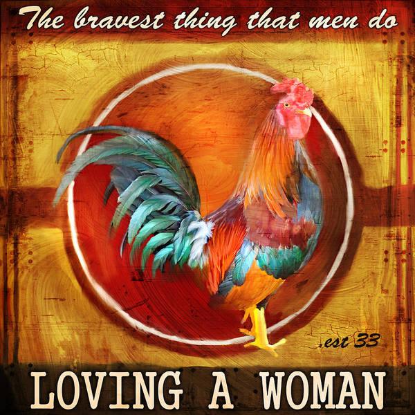 Rooster Digital Art - Chicken Little by Joel Payne