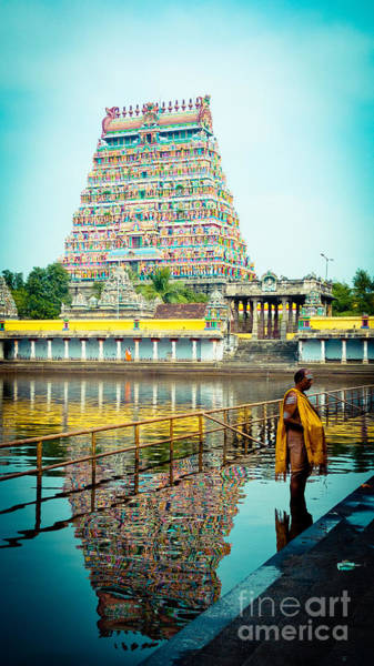 Chidambaram Temple Lord Shiva India Art Print