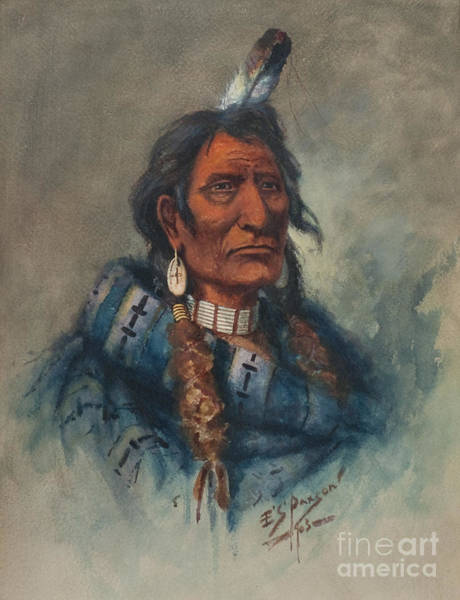 Painting - Chief Charlo by Celestial Images
