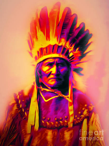 Photograph - Chief Geronimo 20151228 by Wingsdomain Art and Photography
