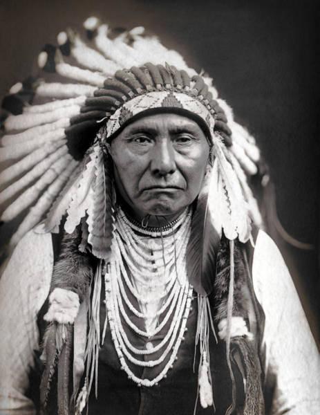 Wall Art - Photograph - Chief Joseph Of The Nez Perce Tribe by Daniel Hagerman