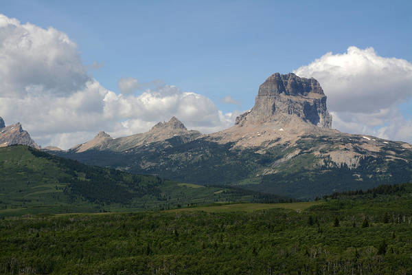 Indian Peaks Photograph - Chief Mountain by Whispering Peaks Photography