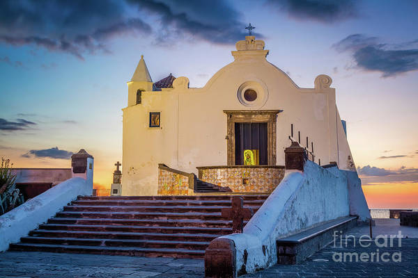 Wall Art - Photograph - Chiesa Del Soccorso On Ischia by Inge Johnsson