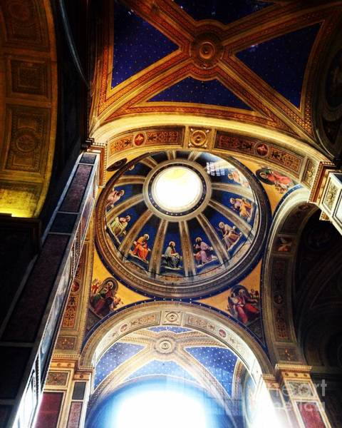 Photograph - Chiesa Dome by Angela Rath