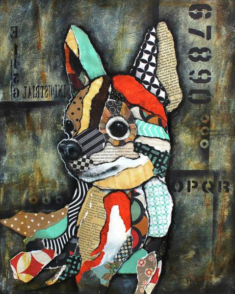 Wall Art - Mixed Media - Chihuahua 2 by Patricia Lintner
