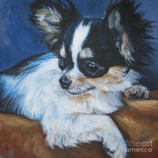 Wall Art - Painting - Chihuahua by Lee Ann Shepard