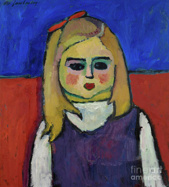 Wall Art - Painting - Child by Alexej von Jawlensky