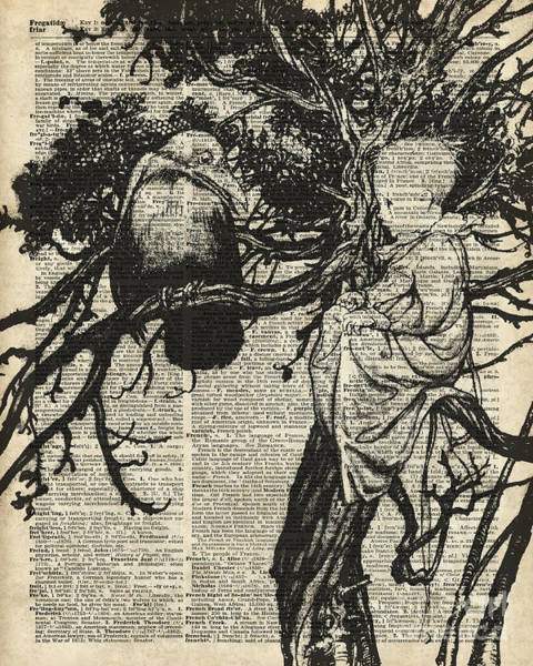 Phantasy Wall Art - Digital Art - Child And Raven by Anna W