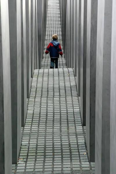 Child In Berlin Art Print
