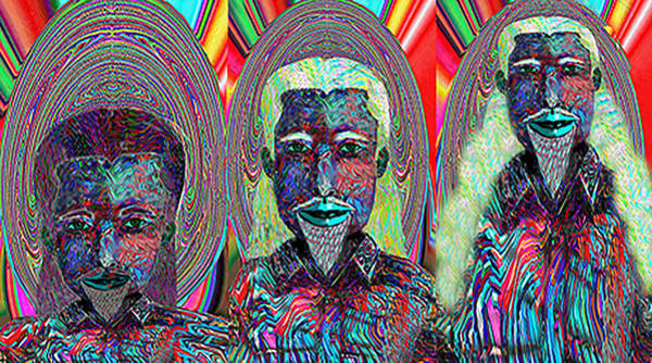 Digital Art - Child Is Father To The Man   Cmtmiii by Philip Brent