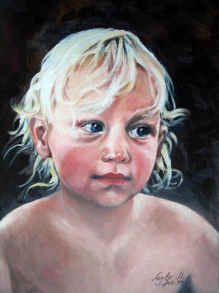 Wall Art - Painting - Child by Leyla Munteanu