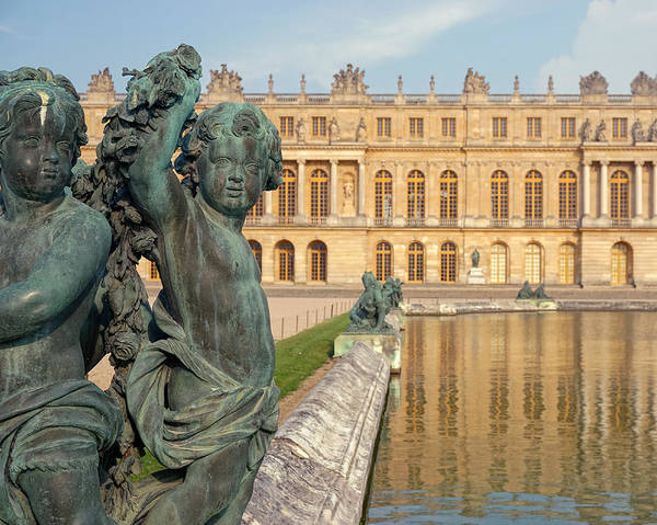 Photograph - Child Statues At The Palace Of Versailles by James Udall