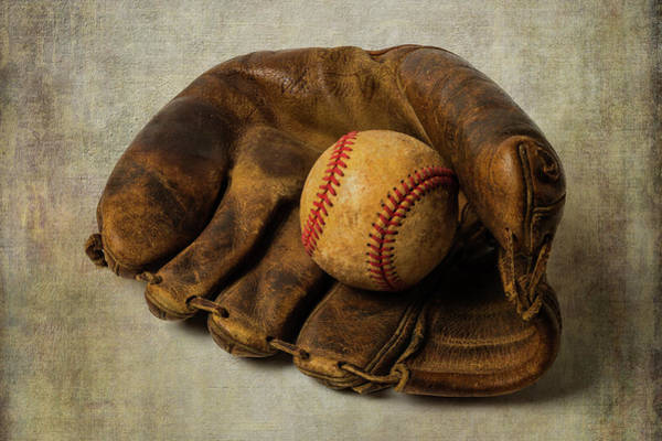 Wall Art - Photograph - Childhood Ball And Mitt by Garry Gay