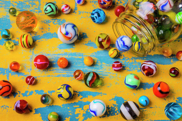 Wall Art - Photograph - Childhood Marble Collection by Garry Gay