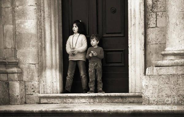 Stari Grad Photograph - Children Of Croatia by Morris Keyonzo
