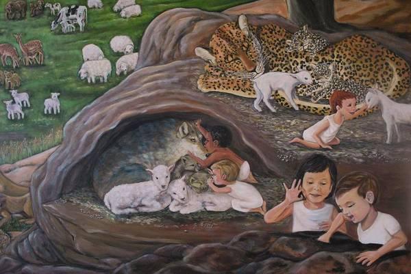 Wall Art - Painting - Children Of God by Jennifer Kwon