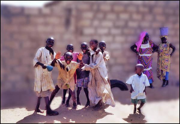 Photograph - Children Of Kayar  by Wayne King