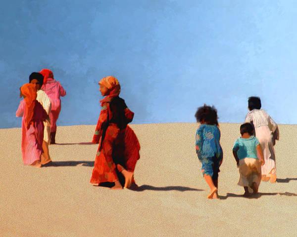 Photograph - Children Of The Sinai by Kurt Van Wagner