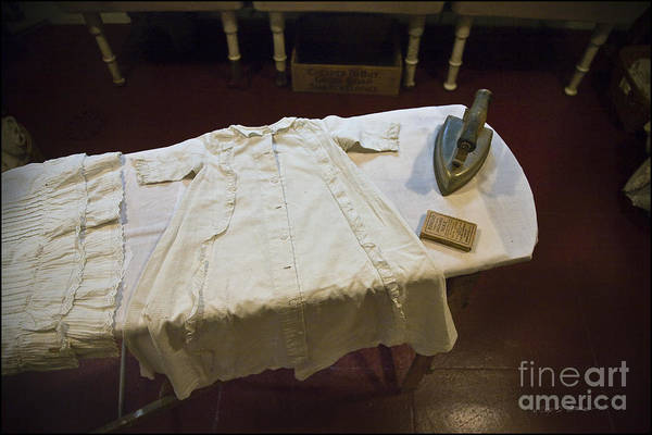 Photograph - Children Shirt Ironing by Craig J Satterlee