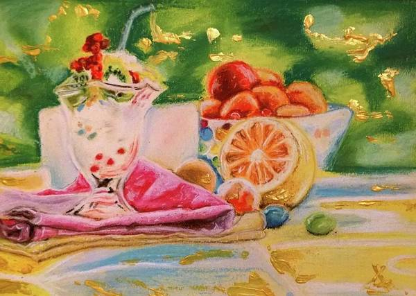Wall Art - Pastel - Children Treats by Agnes V