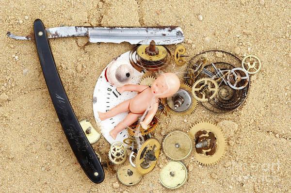 Doll Parts Photograph - Children's Games by Michal Boubin