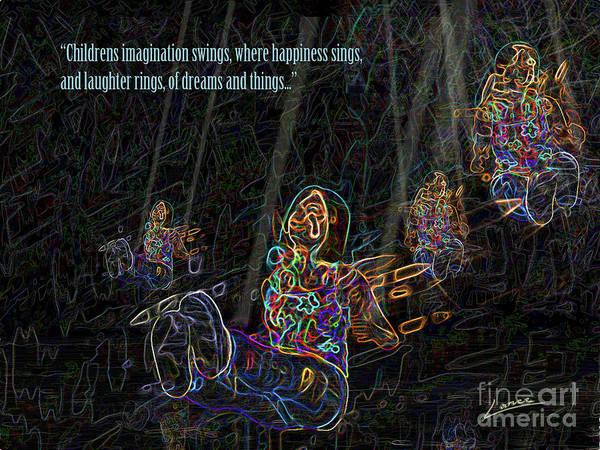 Digital Art - Childrens Verse by Lance Sheridan-Peel