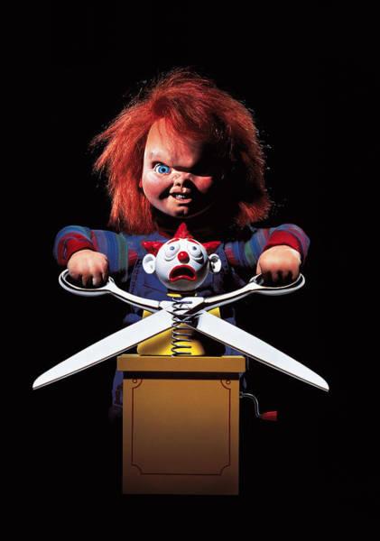 Chucky Wall Art - Digital Art - Childs Play 2 1990 by Geek N Rock